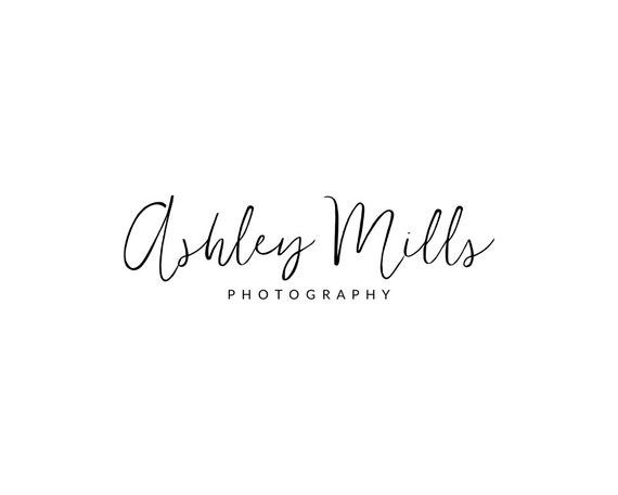 Premade logo design simple calligraphy by pinenineteen