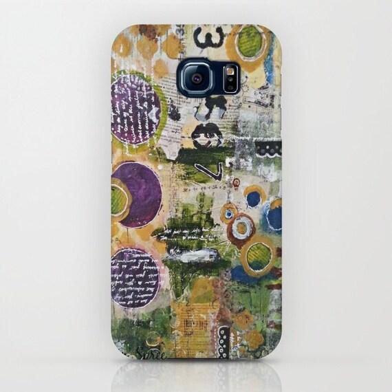 Iphone Cases: Mixed media art