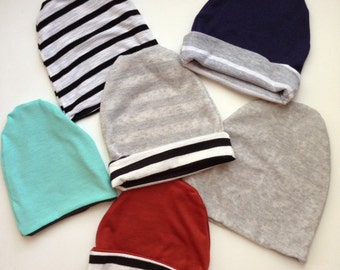 Slouchy Beanie-Baby and Toddler Sizing