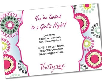 il_340x270.844211454_bo8h instant download thirty one gifts party items sign in &,Thirty One Invitations