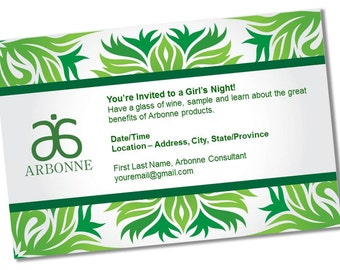 Instant Download Printable Arbonne Party Invitation
