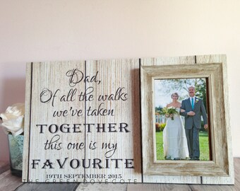 Father Of The Bride Wedding Gift - Wedding Gift For Dad - Parents Wedding Gift - Dad Gifts - Gift From Daughter - Dad Wedding Gift