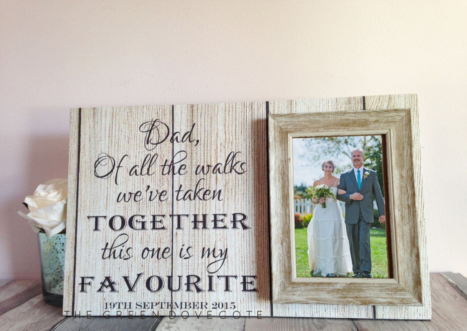 Father Of The Bride Wedding Gift Wedding Gift For Dad
