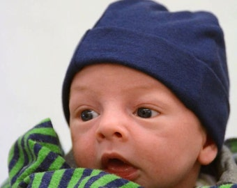 Temperature Control Preemie and Infant Hat/Caps - Boys