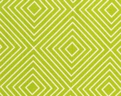 michael miller textured basics lime diamonds by patty young fabric 1 yard DC 5806