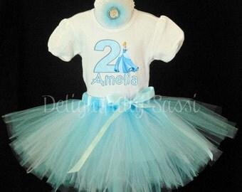 Birthday Cinderella Tutu, Birthday Tutu, Disney Princess Tutu, Disney Birthday, Cinderella, Tutu Outfit