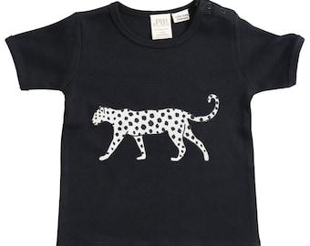 Leopard organic T shirt