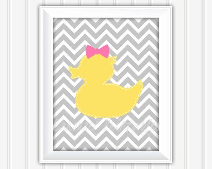 Rubber Duck Wall Art, Bathroom Wall Art,Printable Wall Art,Instant Download,Childrens Wall Art,Kids Wall Art, Nursery Wall Art, DIY Wall Art