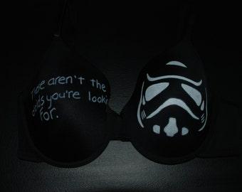 Hand painted 'Star Wars' inspired bra