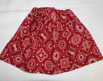 Girls Western Skirt Size 18-24 mo