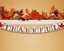 FALL THANKSGIVING BANNER and Signs, Fall Banners, Thanksgiving Banner, Thanksgiving Home Decor, Fall Home Decor, Thanksgiving Garland,