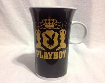 Playboy Black,Gold,& White Mug.......Never Used