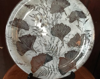 Spring Sale-- Edwin D.Walter Kiln-formed Glass plate