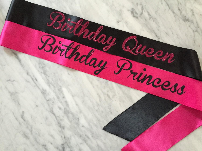 Birthday Party Sash Birthday Sash Birthday Girl Sash
