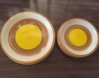 "Vintage Mikasa Nature's Song ""Buttercups"" (C1057) Plates"