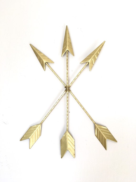 Gold Arrow Wall Decor : Gold arrows tribal decor arrow rustic by