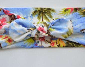Poolside Island Girl tie