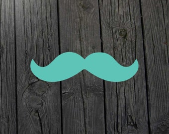 Mustache decal Mustache sticker Mustache art Mustache decor Moustache decal Moustache sticker Mustache print Mustache window Mustache wall