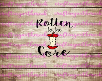 Rotten To The Core SVG