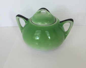 Vintage Small Sugar Bowl Made In Japan