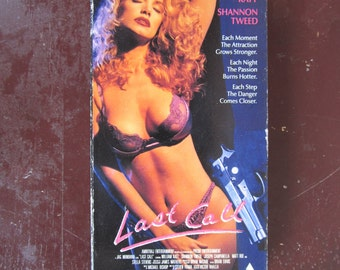 Last Call vintage 90's vhs drama/thriller movie for sale