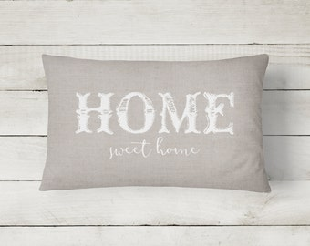 Throw Pillow | Home Sweet Home Throw Pillow | Designer Pillow | Word Throw Pillow | Available in 3 styles