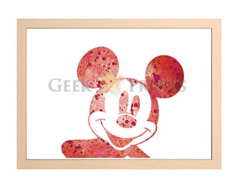 Disney Mickey Mouse Print