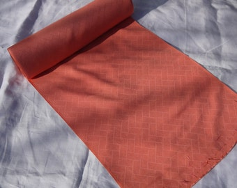 Natural dyed madder root silk red Kimono fabric