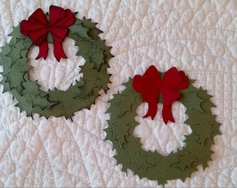 Wreath Die-Cuts - Set of 2