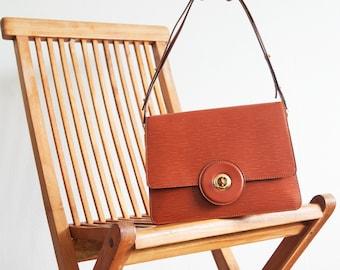 Vintage Louis Vuitton bag / Epi Friedland brown purse