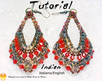 Tutorial Earrings Indian