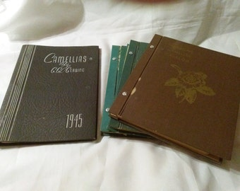 American Camellia catalog Athos Menaboni plates
