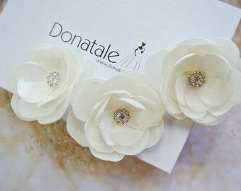 Wedding Hair Piece, Bridal Hair Piece, Wedding Hair Flower,Rustic Headpiece, Wedding Headpiece, Bride Hair accessories -AUDREE