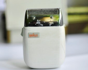 Braun Electric Shavers 1950s, Vintage Braun , Collectibles , Retro Electric Shavers,