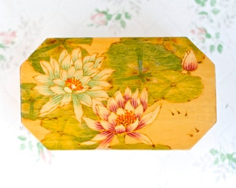 Water Lily Trinket Box