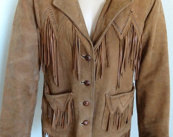 "Vintage 'Pioneer Wear' Vintage Mens Cowboy Jacket - 40"" Chest 30"" Length"