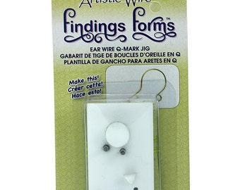 Findings Forms by Artistic Wire, Question Mark Ear Wire Jig  (WR142)