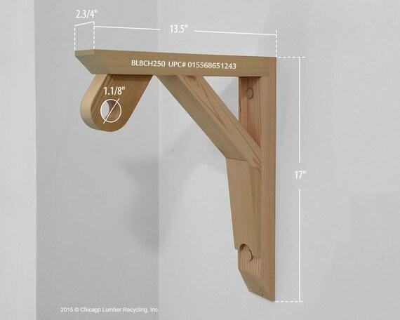 single shelf support bracket with a closet rod by. Black Bedroom Furniture Sets. Home Design Ideas