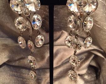 Austrian Crystal Chandelier Earrings