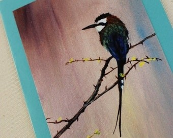 Cards and Paintings - Bee Eater Bird