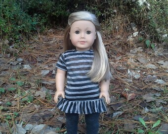 18 inch  doll dress and leggings