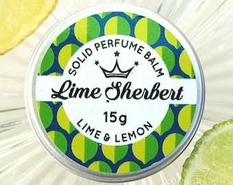 Lime Sherbert Solid Perfume Balm