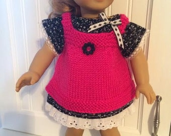 11-Two pieces for 18' doll - Can fit- American Doll- JourneyGirls Doll- TM\MC