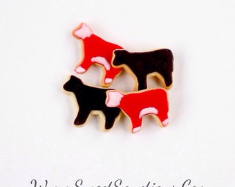 1 Dz. Mini Cow Cookies! Making their first appearance in America in 1611! How cool is that?!