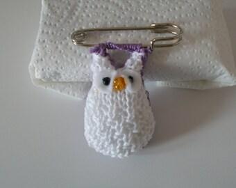 brooch little owl