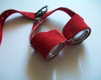 red doll goggles