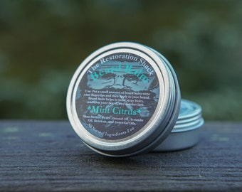 The Restoration Shacks Mint Citrus Beard Balm