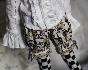 BJD MSD Dark Wonderland Bloomers