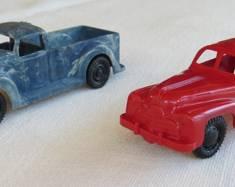 Ideal Plastic Car and Truck Toys