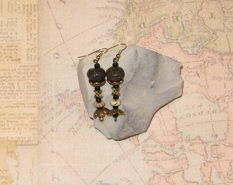 Tribal Dangle Drop Earrings